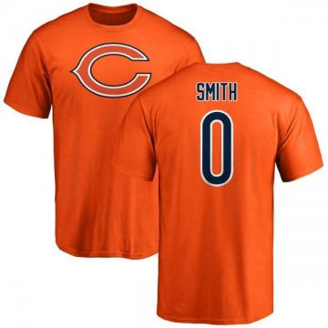 Men's Rashad Smith Chicago Bears Name & Number Logo T-Shirt - Orange