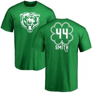 Youth Rashad Smith Chicago Bears Green St. Patrick's Day Name & Number T-Shirt